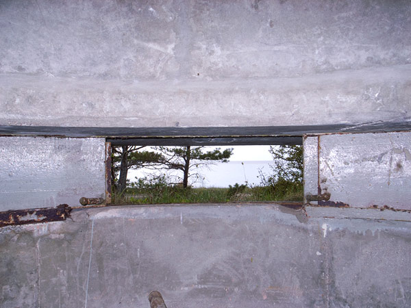 View from a WW2 bunker