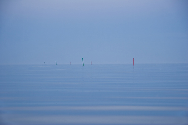 You wouldn't want to get lost at sea now, would you? Baltic sea - Öland